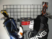 Golf Rack & Basket