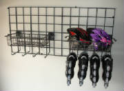 Skate Rack & Basket