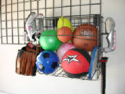 Sports Rack  & Basket