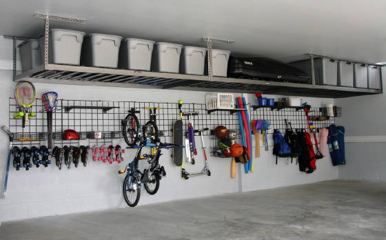 Garage Grids & Overhead Storage Lofts