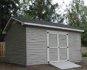 Garage on Concrete Slab