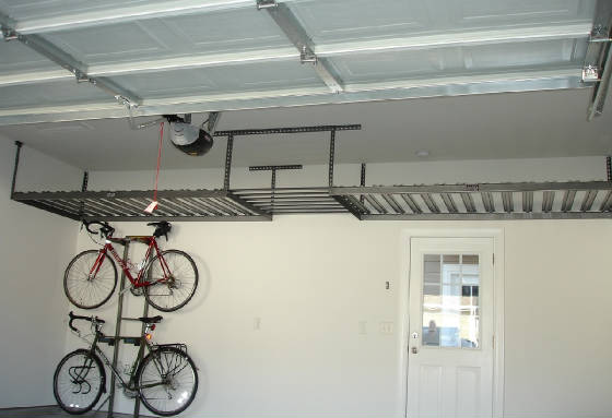 Full Length Garage Loft