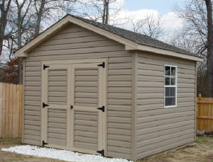 10u0027 X 10u0027 Storage Building With Vinyl Siding