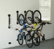 Bikes Mounted in Rack